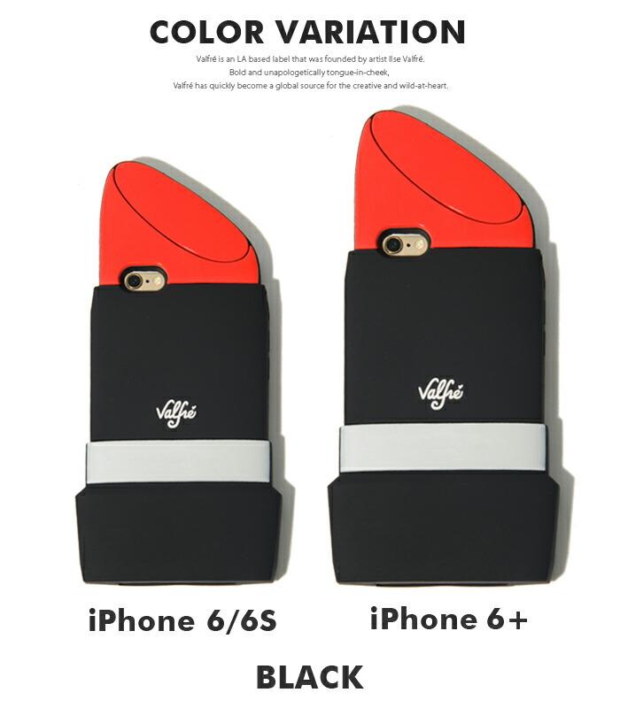 878db6e7f6 Valfre ヴァルフェー アイフォンケース リップスティック iPhone6/6s 《 LIPSTICK 》