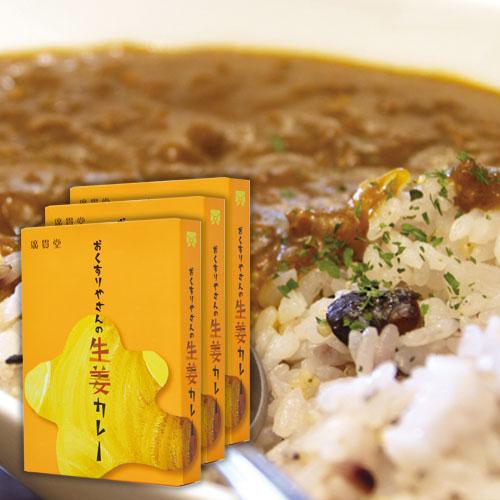 おくすりやさんの生姜カレー180g3個セット
