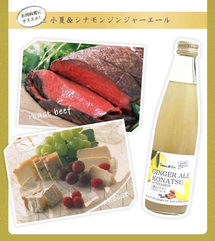 お肉料理におすすめ!小夏&シナモンジンジャーエール