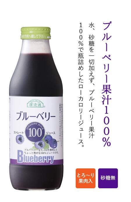 ブルーベリー果汁100%