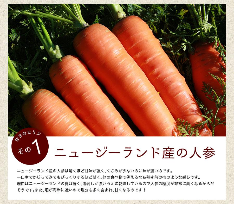 野菜不足解消!Bカロチン豊富/人参(にんじん・ニンジン)ジュース健康法
