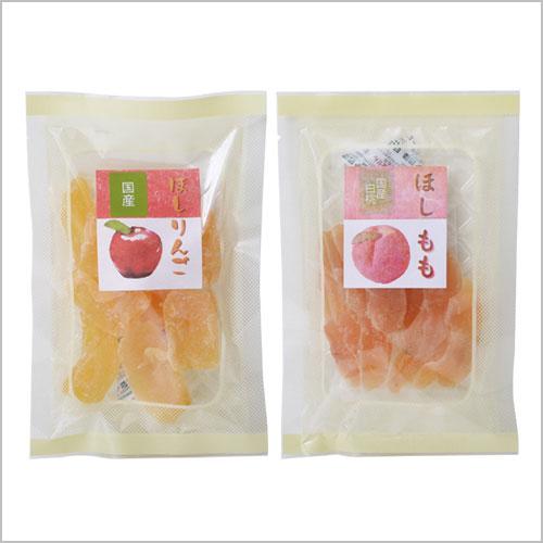 国産ドライフルーツ 桃・りんご