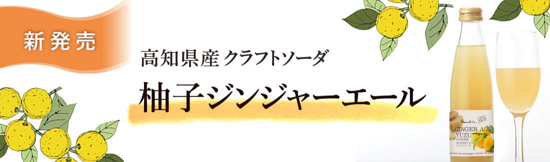 柚子ジンジャーエール特集