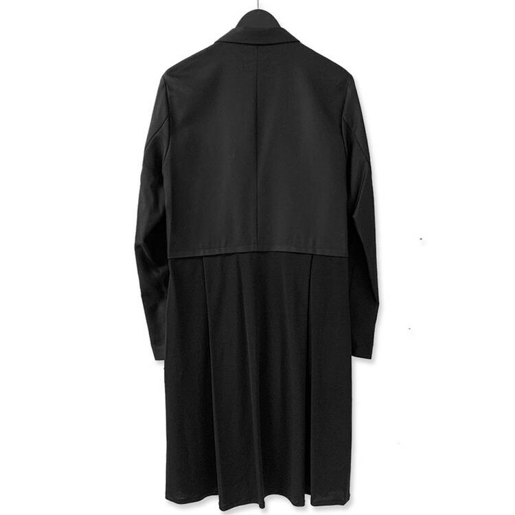 JURY BLACK ジュリーブラック WRouge ルージュ 変形切替タックドレープジャケット