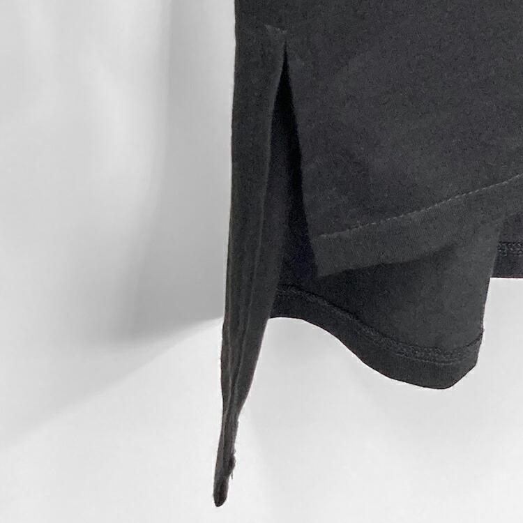 JURY BLACK ジュリーブラック WRouge ルージュ ボリュームネックシャーリングスリーブカットソー