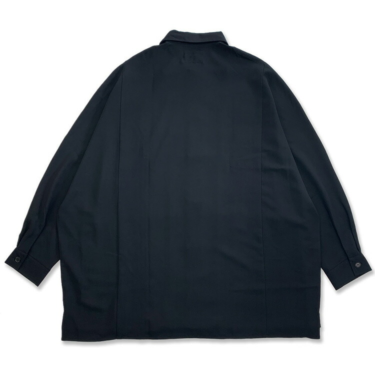 JURY BLACK ジュリーブラック WRouge ルージュ サイドスリットドルマンシャツ