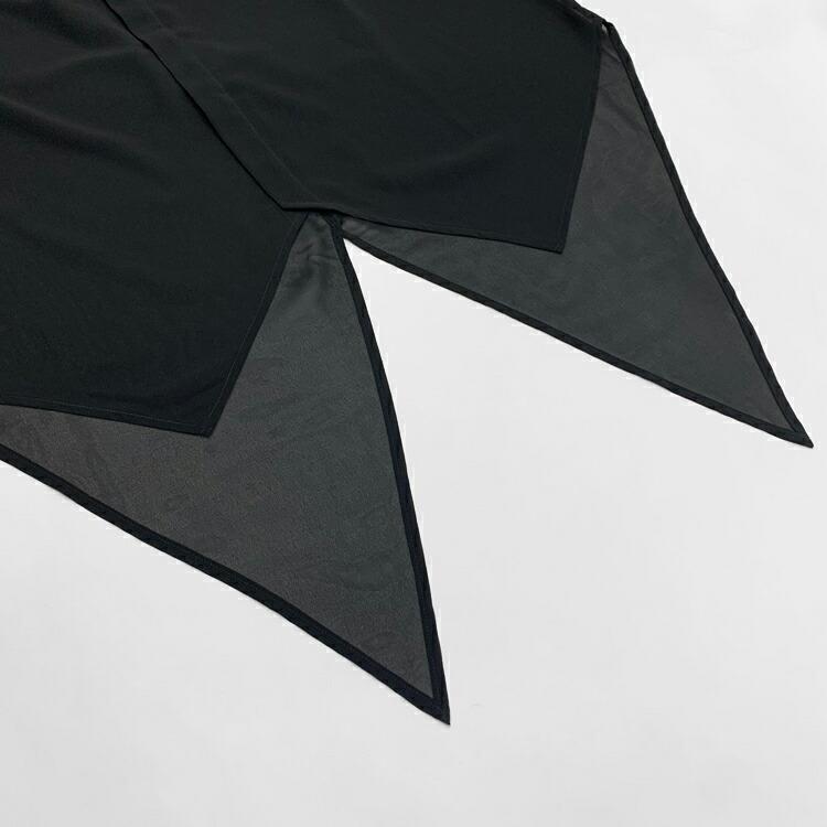 JURY BLACK ジュリーブラック WRouge ルージュ スワローテイルシフォンシャツ
