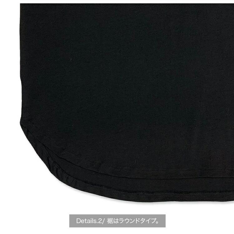 JURY BLACK ジュリーブラック Tシャツ Note LIPラウンドヘムカットソー