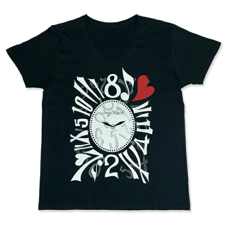 JURY BLACK ジュリーブラック Tシャツ Crazy Watch Tシャツ