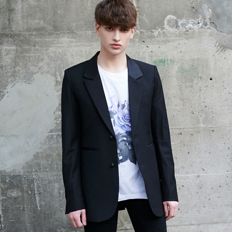 JURY BLACK ジュリーブラック ジャケット フィッシュマウスロングジャケット