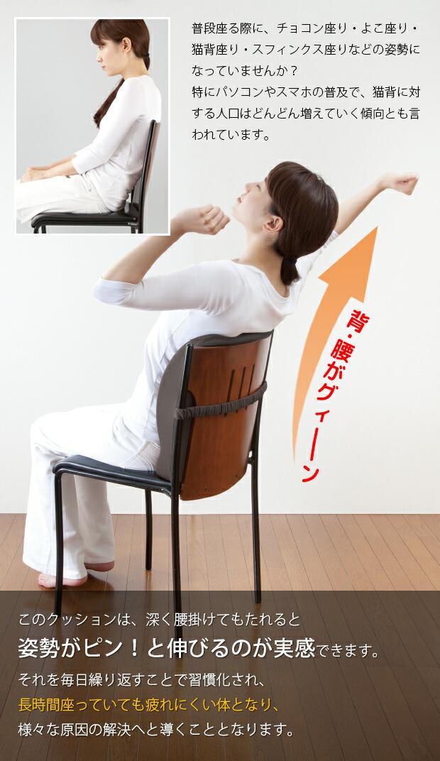 椅子 クッション オフィス 腰痛 低反発 デスクワーク 姿勢 矯正