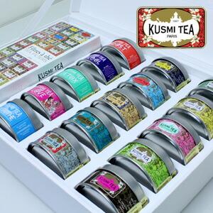 クスミティー コレクション (15缶とペーパーフィルターのセット)
