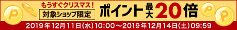 ポイントアップ祭 12/11(水)10:00〜12/14(土)09:59