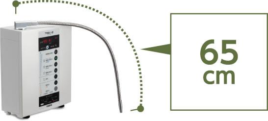 デリバリーパイプの長さが65cm