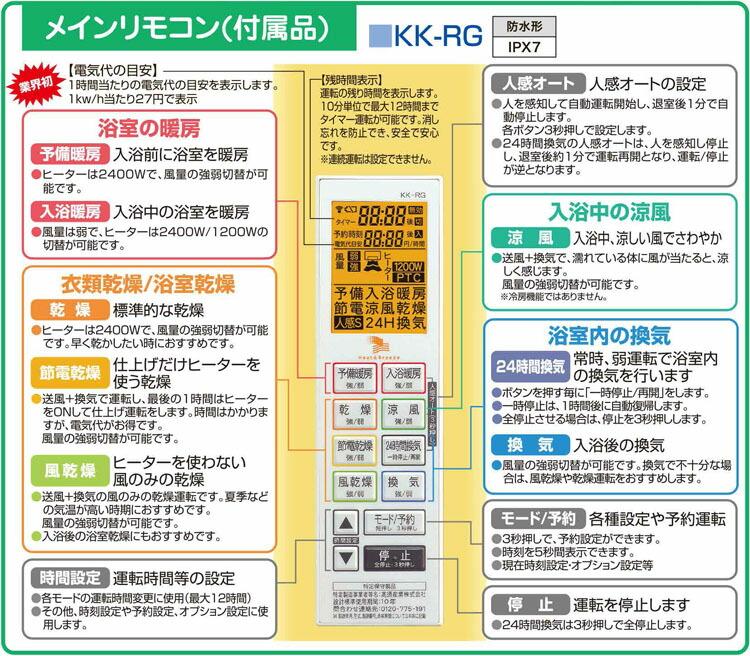 BF-871RGA2機能04