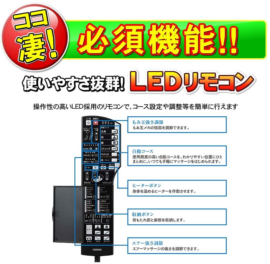 AS870は使いやすさ抜群のLEDリモコン