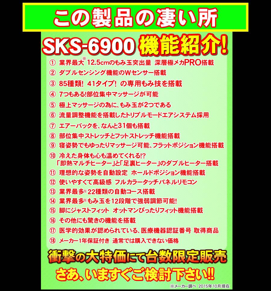 SKS-6900の機能紹介