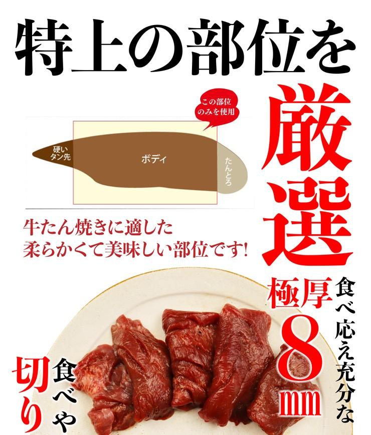 熟成厚切り牛たん1.5kg