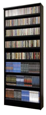 CD、DVD、コミックが収納