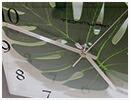 アジアンモンステラ時計