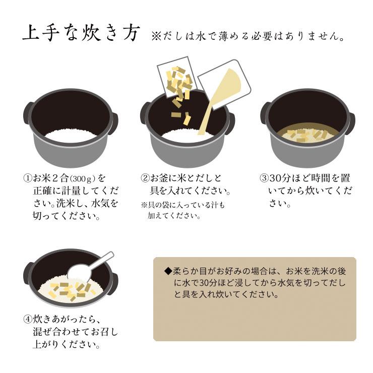 筍ご飯の上手な炊き方