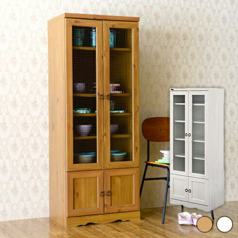 アンティーク調食器棚