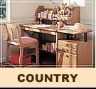 カリモク学習机:country