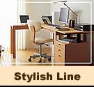カリモク学習机:Stylish line