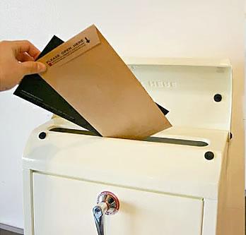 メールボックス 020 Mail Box 大きい投函口
