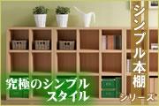 シンプルスタイル 本棚