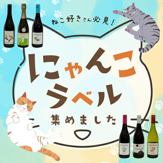 猫ちゃんワイン特集