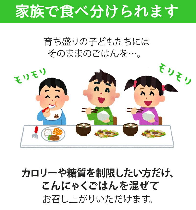 こんにゃくごはん こんにゃく コンニャク 米 ご飯 ご飯に混ぜるだけ こんにゃく米 蒟蒻 ダイエット食品 大豆イソフラボン ダイエット・健康 パウチ カロリー オフ 簡単 ごはん マンナン 低糖質 電子レンジ