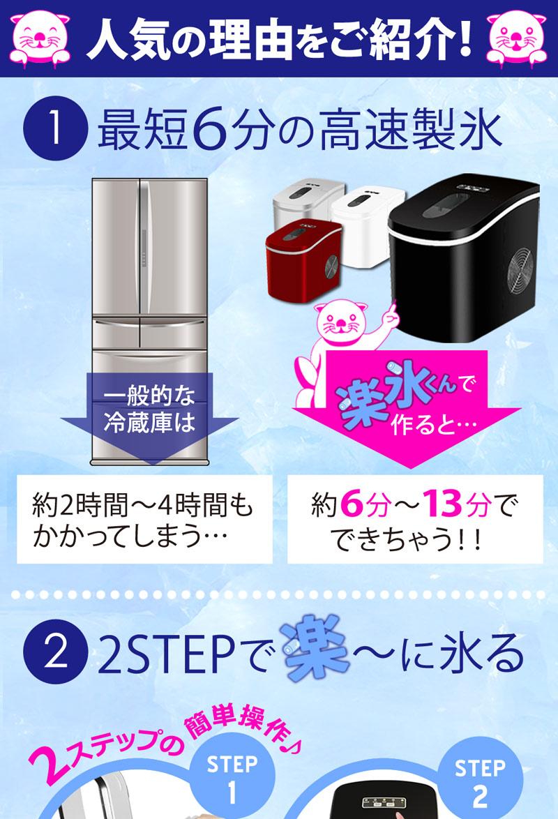 高速製氷機 製氷機 家庭用 製氷器 家庭 氷 アイス レビュー コンパクト 冷蔵庫 自動製氷