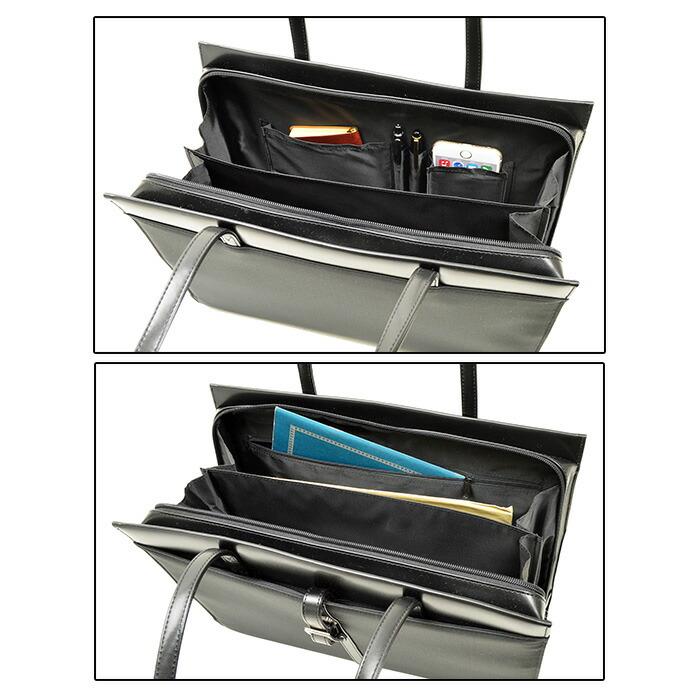 27f08c03311c 仕様1 ビジネスバッグ レディース A4ファイル 軽量 軽い リクルートバッグ トートバッグ 通勤 面接 就活