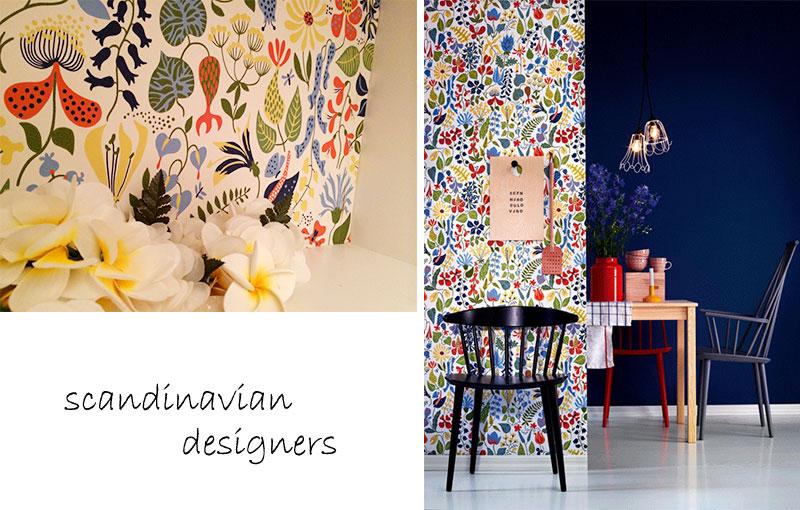 Non Woven Wallpaper DIY Rental Fabric Fleece Imported Nordic