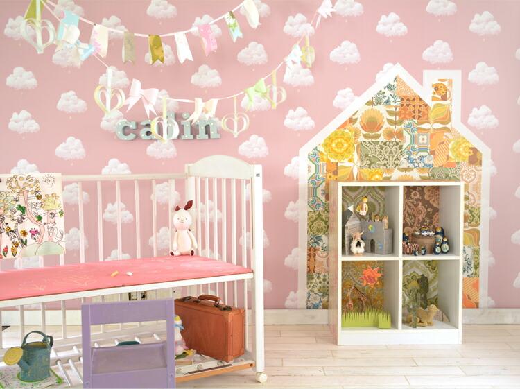 子供部屋女の子編の作り方 壁紙屋本舗