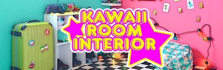 kawaii roomインテリア