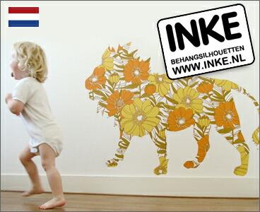 INKE オランダ生まれのビンテージ壁紙ステッカー