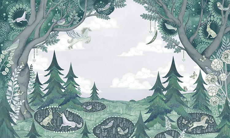 AYA KATO / 宇宙と森と