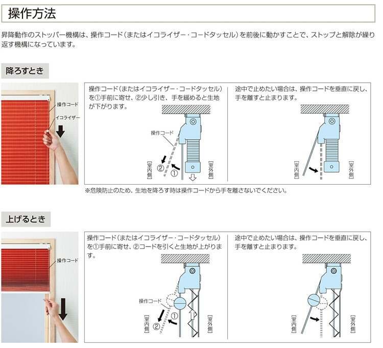 15mm小窓タイプ操作方法