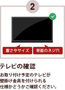 2テレビの確認