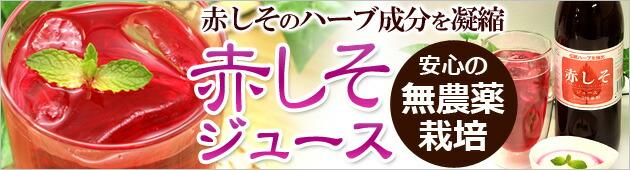 赤しそジュース:安心の無農薬栽培