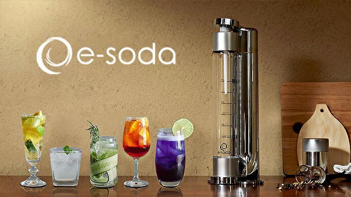 炭酸水メーカー(e-soda)