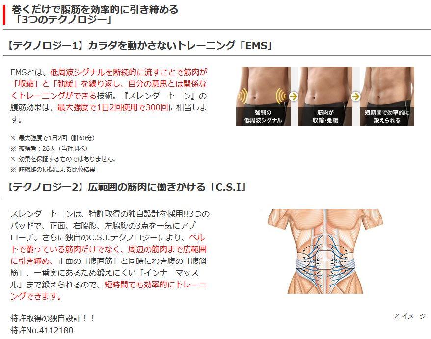 巻くだけで腹筋を効率的に引き締める「3つのテクノロジー」