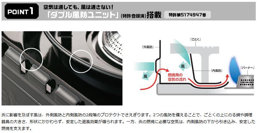 イワタニ ForeWinds カセットフー タフまる CB-ODX-1 カセットこんろ