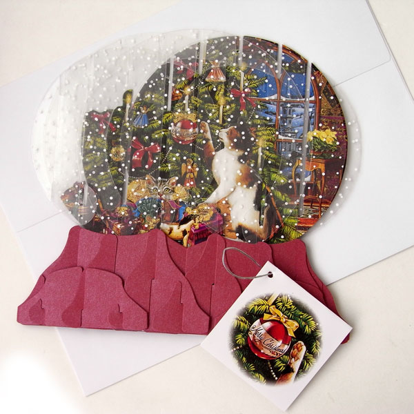 Rakuten Global Market: Pop-up Greeting Card Snow