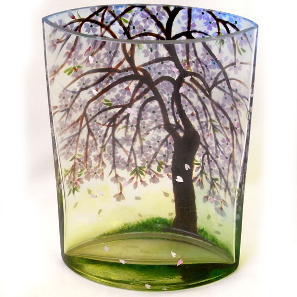 Kaderia Cherry Blossom Pot Flower Base Vase Cherry Tree