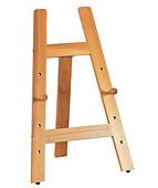 イーゼル、ディスプレイイーゼル、ディスプレーイーゼル、木製イーゼル