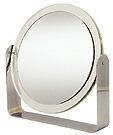 卓上鏡・スタンドミラー・メーキャップミラー・化粧鏡「2a100t(両面鏡・片面が拡大鏡)」