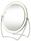 卓上鏡・スタンドミラー・メーキャップミラー・化粧鏡「2a120t(両面鏡・片面が拡大鏡)」